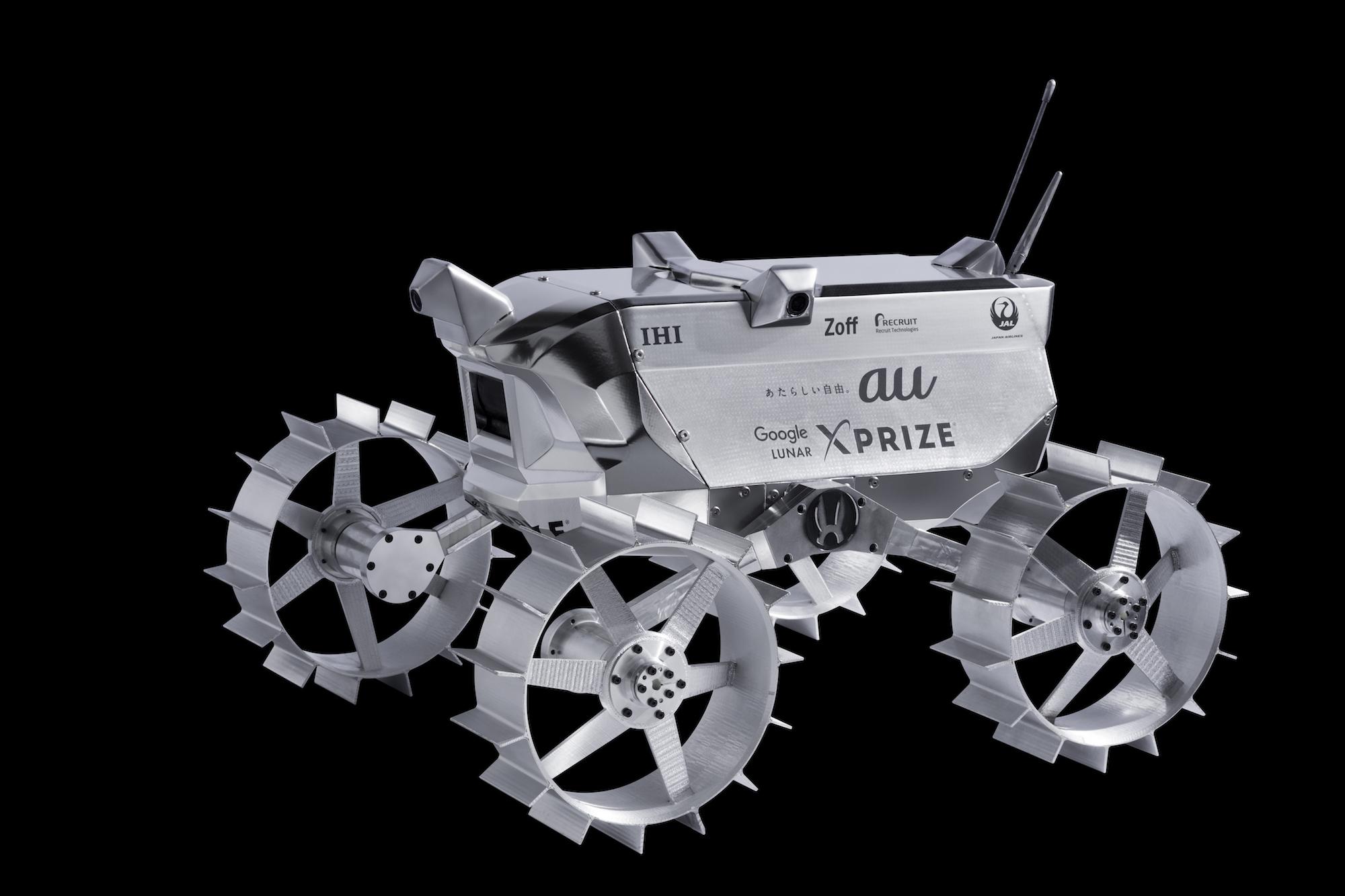 HAKUTOの月面探査ロボット(ローバー)PFM3