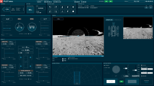 ローバー操縦アプリの画面(※開発中のもの)